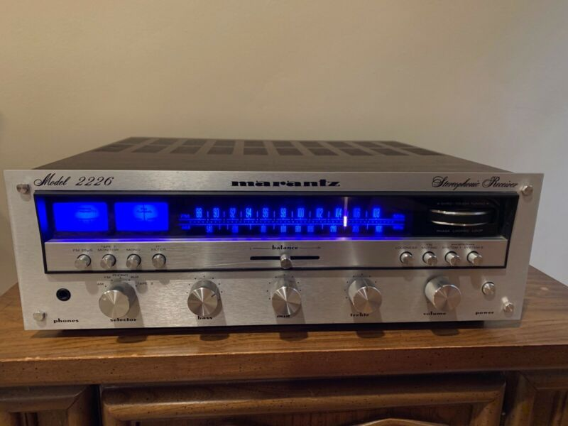 Marantz 2226 Stereophonic Receiver - Tested and Works Great - New LED Lights!