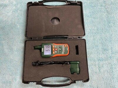 Pre-owned Extech Mo290 Pinless Moisture Meter With Remote Pin Probe And Case