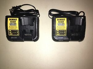 Dewalt 12v/20v fast lithium ion battery charger