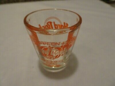 Hard Rock Cafe Orlando 2003 Halloween Party Exercise your shots shot Glass