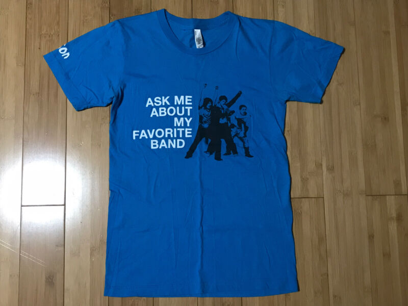 Official Hanson Shirt / Favorite Band RARE XS