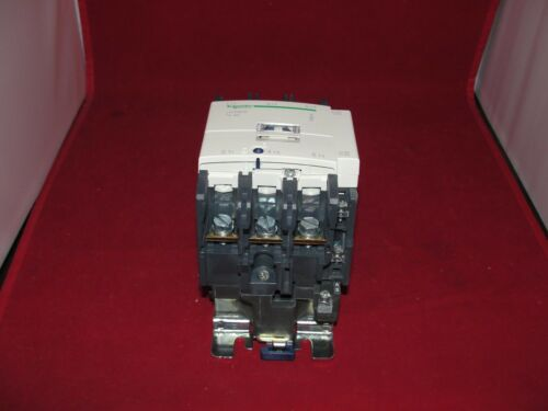 Schneider Electric LC1D806 TeSys 3 Pole 80A Contactor 24V 50-60Hz