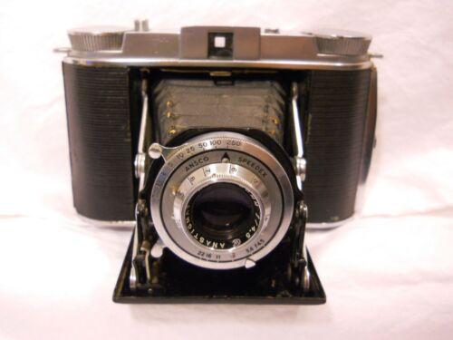 AGFA  Ansco Speedex Folding Camera Made in USA 120 Film Format