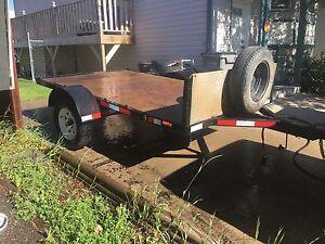 6x10' u-built utility trailer