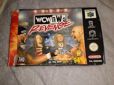 WCW/NWO Revenge - N64 Nintendo 64