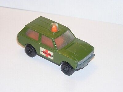 Vintage Matchbox Superfast #20 Military Patrol **YELLOW LIGHT SPECIAL**