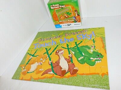 Land Before Time Puzzle Little Foot Dinosaurs Preschool Activity Toy - Little Foot Dinosaur