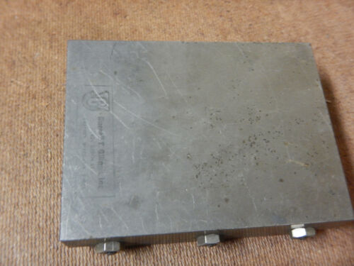 RUSSELL GILMAN SMALL SLIDE MACHINIST JIG FIXTURE TOOLING