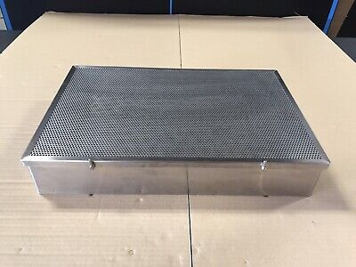 Stainless Steel Sterilization Tray Case Surgical Instrument 20 X 13 X 3.5.