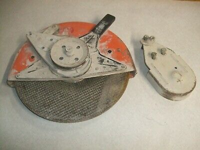 Stihl Ts350 Super Concrete Saw 12 Inch Blade Guard Assembly-used