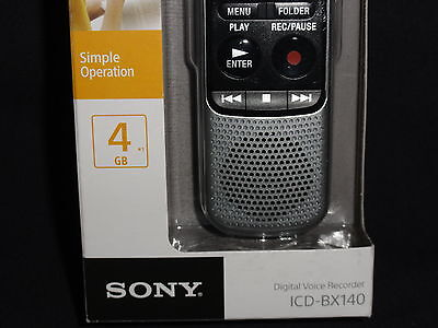 Sony Voice Recorder Icd Bx140 Manual