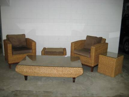 FOR SALE: Solid comfortable casual Lounge Setting - $385 neg.