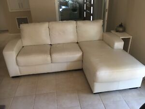 Theee (3) seater lounge and Chaise