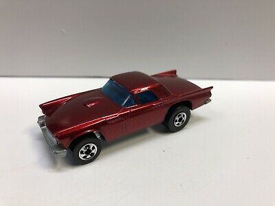 Hot Wheels '57 T Bird Red Metallic 1977 Hong Kong