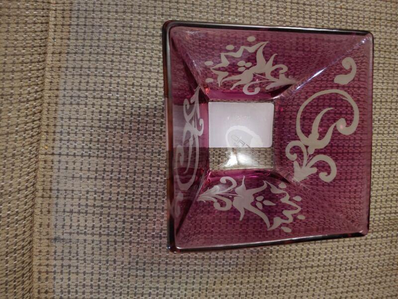Saks Fifth Avenue ETRO Janjira Square Purple Candy Dish