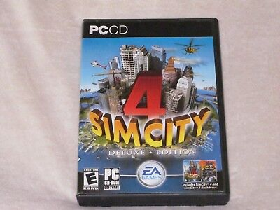 Used, Sim City 4 Deluxe Edition for PC for sale  Indianapolis