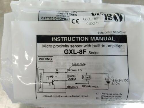 New in Package GXL-8F SunX Proximity Sensor