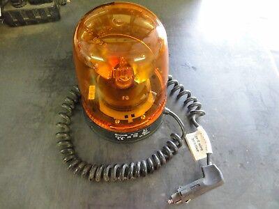 Cobo 35.400 00-6030 Amber Beacon Light Rotating  12v