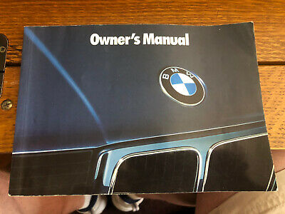 1993 BMW 525i 535i M5 OWNERS MANUAL