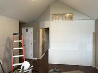 Need drywall taping done
