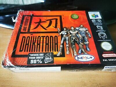 Daikatana For The Nintendo 64 Boxed & Complete PAL EUR N64 SEALED IN BOX
