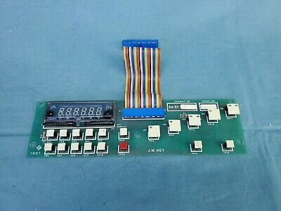 Dental Lab Burn Out Oven Ney 2-525 Control Board