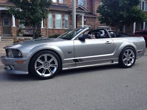 2008 Ford Mustang Convertible SALEEN(#05 Canadian)SUPERCHARGED