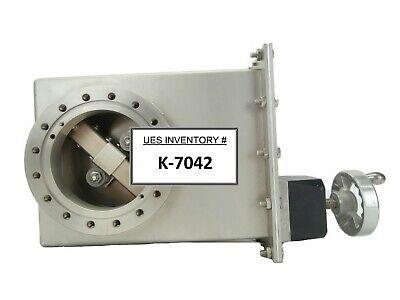 Varian 951-5526 4 Stainless Steel Manual Swing Gate Valve Dn100cf Working Spare