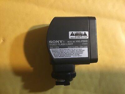 Вспышки Sony HVL-FDH3 Camcorder Light and