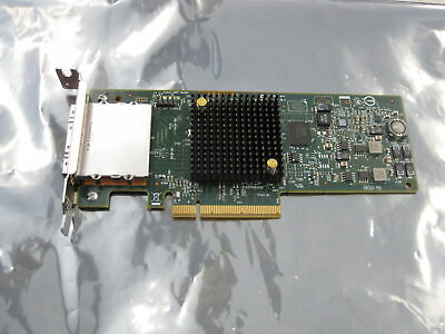 LSI SAS9207-8e 8-Port 6Gbp/s PCIe 3.0 Host Bus Adapter Card H3-25427 Low Profile