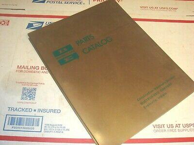 Bucyrus-erie Drag Bucket Crane Dragline Clam Shovel Hoe Parts Catalog Manual