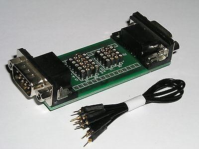 SUB D Mess und Prüf Adapter  9 polig  einfach testen, messen, anpassen...