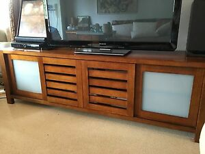 Beautiful Wood Entertainment Unit Alexandria Inner Sydney Preview