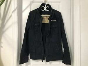 Navy Hollister Winter Coat