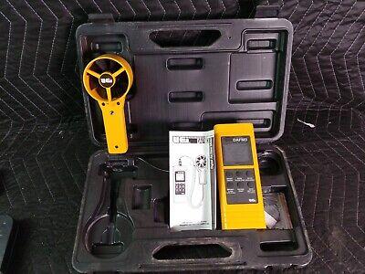 Uei Dafm3 Digital Airflow Cfm Hvac Ductwork Wind Speed Meter Anemometer In Case