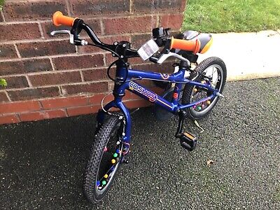 Fantastic Little Boys Carrera Cosmos Blue Bicycle 14inch (3-5years)