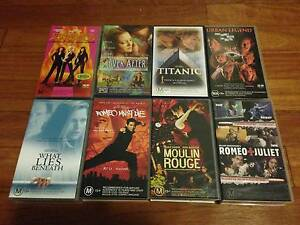 Assortment of 13 VHS Movies Lewisham Marrickville Area Preview