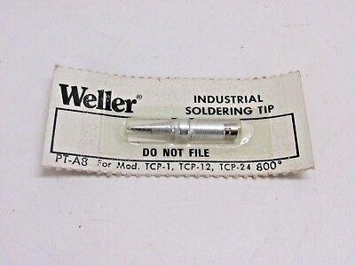 Weller Soldering Iron Chisel Tip Pt-a8 For Model Tcp-1 Tcp-12 Tcp-24 800