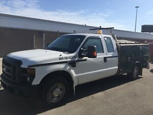 2010 FORD F-250 XL ext cab a/c,fully loaded,Aluminum box
