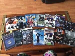Assorted game manuals
