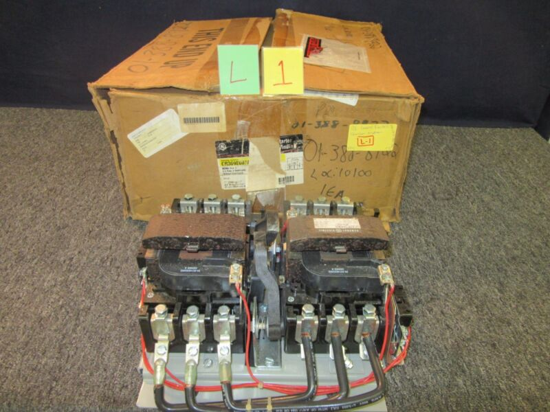 GE CR309F002AKA GENERAL ELECTRIC MOTOR STARTER 600A 135V NEMA 4 30 75 HP NOS NEW