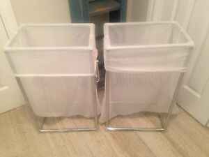 2x Laundry Hampers