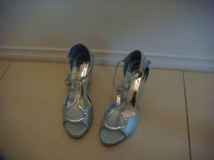 New Blue High Heels Size 8
