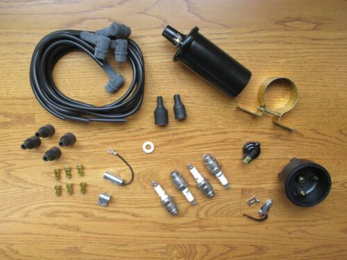 Complete Ignition Tune Up Kit Set & Coil IH Farmall A AV B BN C H HV M MV