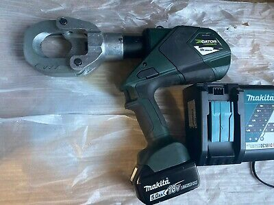Greenlee Esg50x Gator Wire Cable Cutter 18volts Battery