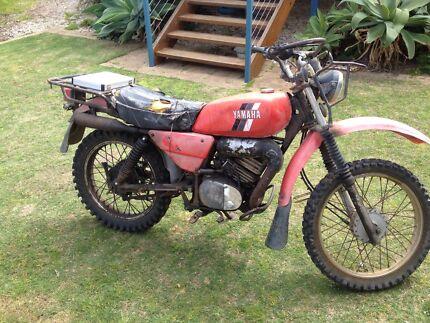 Yamaha 175AG bike