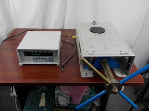 FLUKE DH DHI RUSKA RPM 4 MPG1 15,000 PSI PRESSURE GENERATOR STANDARD CALIBRATOR