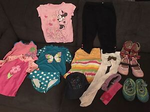 Bundle size 2-3 clothing and 6-7 shoes