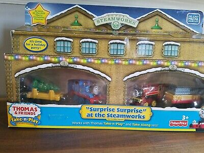 New Thomas & Friends- SURPRISE SURPRISE at The STEAMWORKS - Take -n-Play VICTOR