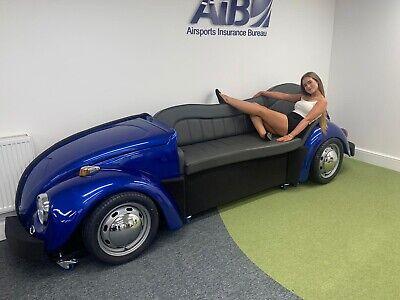 Custom Classic VW Beetle Sofa Bespoke Built Booth Seating For Cinema Room Office